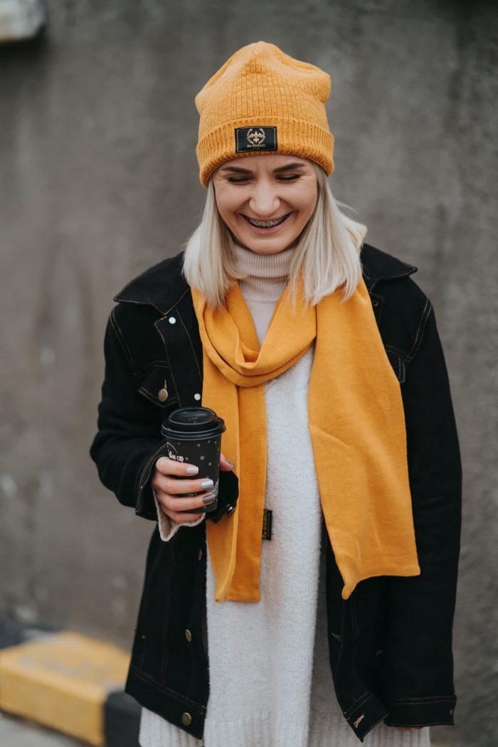 hemp scarf