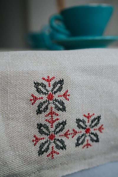 hemp table runner