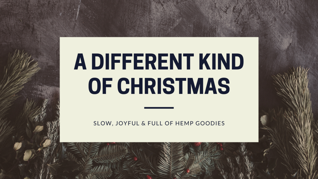 Different kind of hemp Christmas