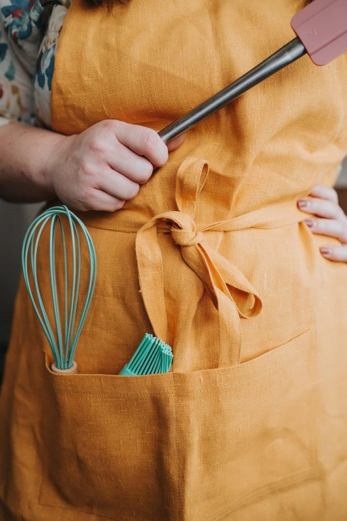 hemp apron