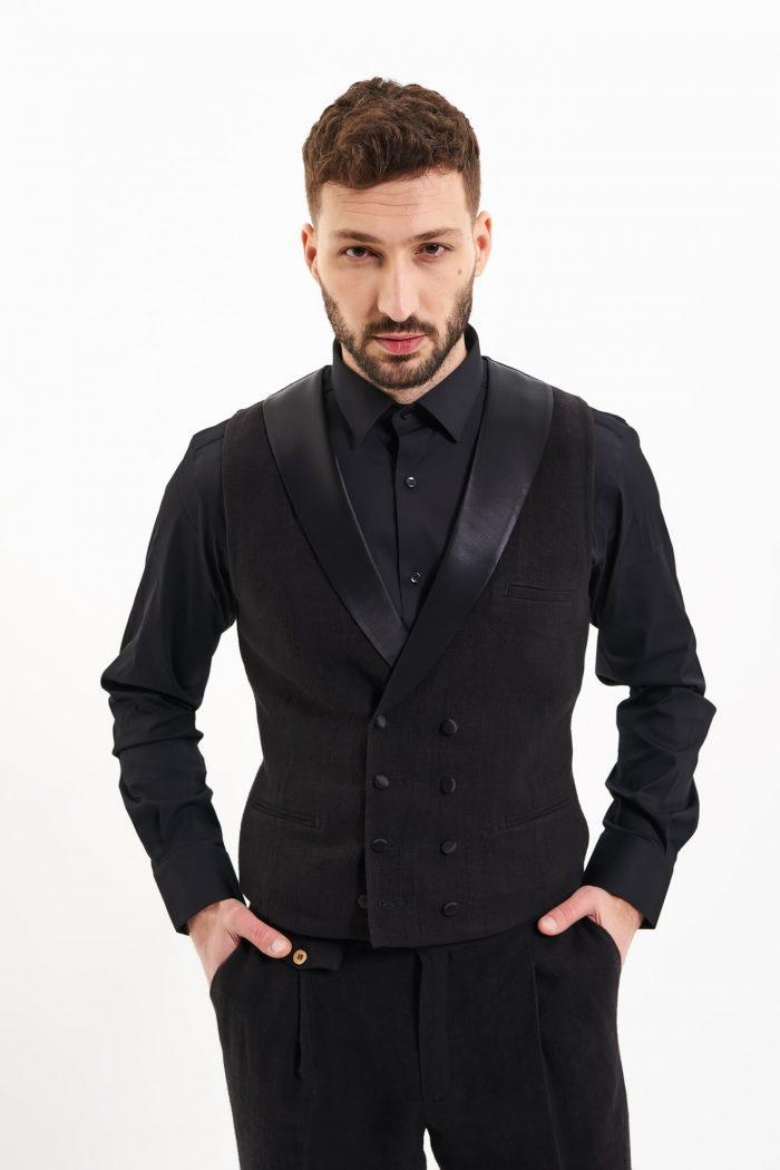 hemp waistcoat