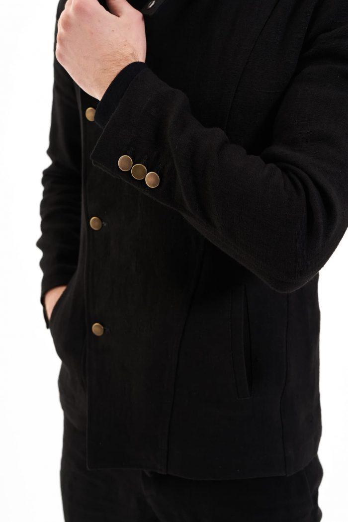 hemp military jacket