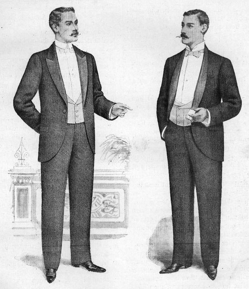 history of tuxedo
