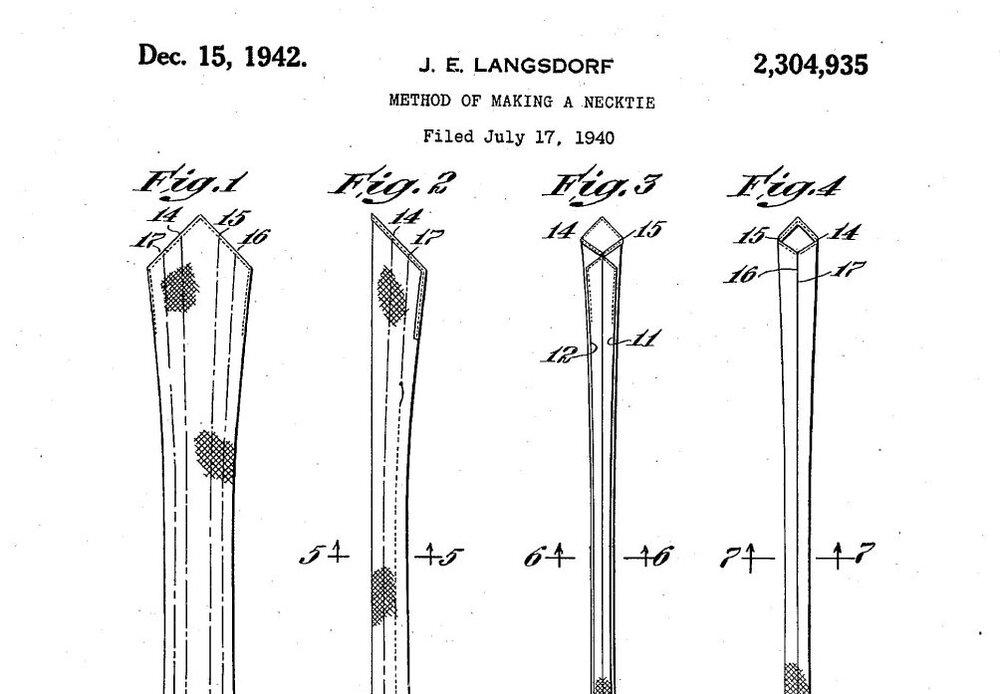 Langsdorf Tie