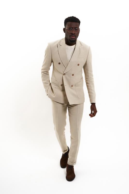 Beige Carpathian Hemp Suit