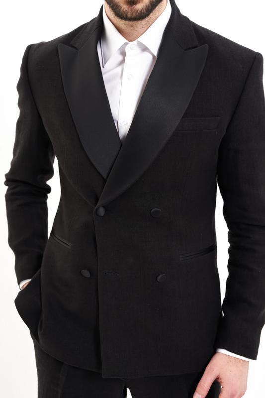 Black Maramu Hemp Tuxedo