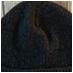 black hemp beanie b